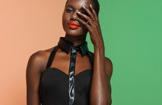 Ajak Deng is a Summer Beauty for Nasty Gals July 2012 Lookbook