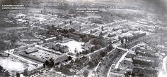 U.S. Army Aschaffenburg Germany | USAREUR Aerial Photos - Aschaffenburg 1950