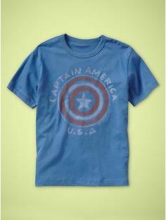Junk Food™ superhero T | Gap  #Captain America  USA  $22.95