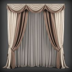 Curtains121 3D model