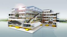 Grotius Building of Radboud University Nijmegen / Benthem Crouwel Architects