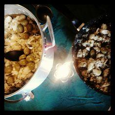 Roupa velha (tradicional e vegetariana) na mesa de Natal :-)
