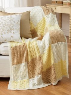 Mystery Afghan Knit-Along | Yarn | Free Knitting Patterns | Crochet Patterns | Yarnspirations