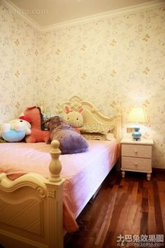 Japanese-style home children's room decoration effect picture 2016
