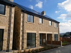 Church Raike, Chipping, Ribble Valley. The brief was to design six houses for social rent, three of which would be semi-detached units with another large detached large four bedroom house for private sale. Located within a picturesque setting, the houses
