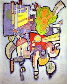 Wassily Kandinsky ~ Complex-Simple, 1939