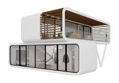 Ob Ferienhaus oder mobile  Coworking Spaces... @coodoeu #Mobile Living and Office   #coworking #office #architecture #design
