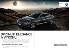 #BMW řady 6 Gran Coupé. Splynutí elegance a výkonu.