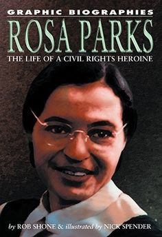 """""""Rosa Parks: the life of a civil rights heroine"""" CurrLab Y Sho Rosa Parks Book, Civil Rights Movement, State College, Bus Driver, Used Books, Biography, Nonfiction, Library Ideas, Life"""