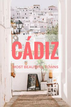 The 10 Most Beautiful Towns In Cádiz, Spain