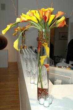 In vase