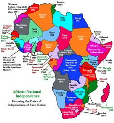 mapa africa paises  Buscar con Google  AFRICA  Pinterest  Africa