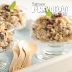 Pouding au quinoa épicé - Recettes - Cuisine et nutrition - Pratico Pratique