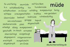 German Language, Deutsch Language, German Grammar, Learn German, Writing Prompts, Back To School, Homeschool, About Me Blog, Germany
