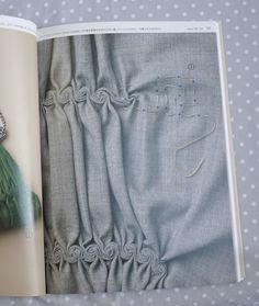 p57 下田直子の手芸技法 Handcraft Techniques by Naoko Shimoda Beautiful scrolls (is it technically embroidery?)