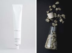 Logo, labels, business cards and other goodies for a Swiss hand crafted skincare brand