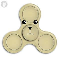 Top1VA Bear New Style Cool Hand Spinner Stress Reducer Hand Toy Tri-Spinner Fidget Finger Toy For Kids And Adult - Fidget spinner (*Amazon Partner-Link)