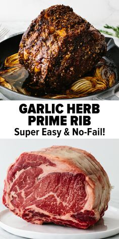 Roast Beef Recipes, Rib Recipes, Entree Recipes, Standing Prime Rib Roast Recipe, Cooking Recipes, Best Prime Rib Recipe Ever, Perfect Prime Rib Roast Recipe, Prime Rib Recipe Easy, Best Roast Recipe