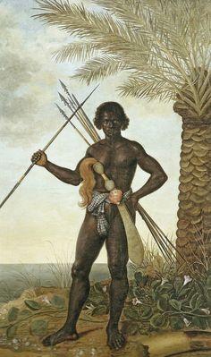 Albert Eckhout, Warrior of the Denkyira Kingdom in west Africa