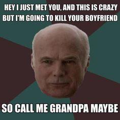 Principal Grandpa Gerard
