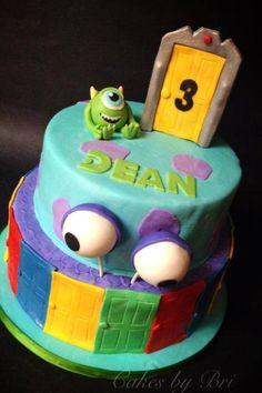 Monsters inc birthday cake. Monsters university.