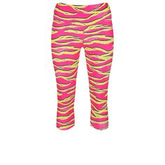 efea69b9c8c80 Our Tropical Tiger capris will put a bounce in your step and smile on your  face