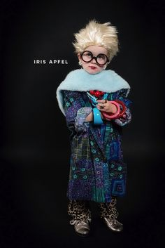 Halloween outfits for your kids. Look this look like Iris Appel!