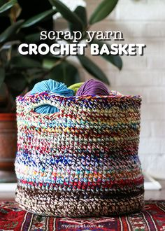 Crochet Home, Crochet Crafts, Yarn Crafts, Easy Crochet, Free Crochet, Sewing Crafts, Knit Crochet, Yarn Projects, Crochet Projects