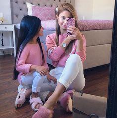 "127 Likes, 5 Comments - Team Momista (@momistas) on Instagram: ""Pink or Blue? Swipe left  ? ? @aysegulozcaan #MommyandMe #Momistas"""