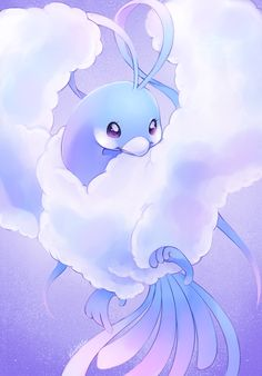 kiwiggle: Day 8!! Fave Flying type is Altaria <333