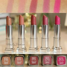 Maybelline Lipsticks