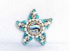 Geschenke für Frauen - Pinboard Magnet Seestern - ein Designerstück von LonasART bei DaWanda