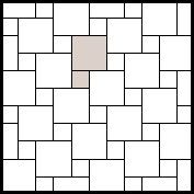 Hip Hop or Hopscotch or Pinwheel tile pattern Were doing this