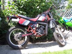 Kawasaki KMX125. The first bike I bought, was such an adventure, pretty fast and furious especially when derestricted for a beginers bike, you learn fast though lol
