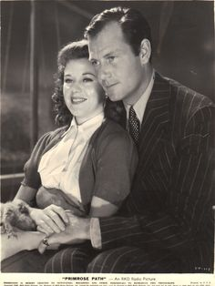 """Ginger Rogers and Joel McCrea """"Primrose Path"""" Golden Age Of Hollywood, Vintage Hollywood, Hollywood Stars, Classic Hollywood, Actors Male, Actors & Actresses, A Fine Romance, Hollywood Pictures, Ginger Rogers"""