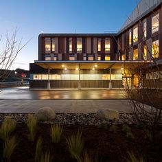 Sechelt Hospital Expansion and Renovations. One of four (out of eight) of Canadian Green Building Awards 2015 Award Winners to use Lynden Door.  ~  Architect: Farrow Partnership in association with Perkins+Will Canada  ~  Door Supplier: Shanahan's