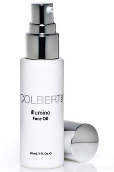 Colbert MD - Cult-favorite Colbert MD Illumino Face Oil, $125, colbertmd.com, uses borage seed, argan and marula oil as protecting vitamin C and wrinkle-fighting retinol to hydrate, soothe and defend.
