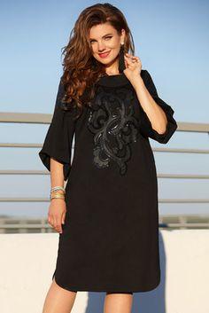 Платье Vittoria Queen 11593 черный Cold Shoulder Dress, Queen, Dresses, Fashion, Casual Wear, Vestidos, Moda, Fashion Styles, Dress