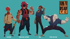 ArtStation - Kung Fu is Dead (character concepts), Malcolm W