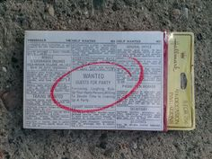 Vintage 1970s Party Invitations Help Wanted Guests for Party 2014500 - pinned by pin4etsy.com