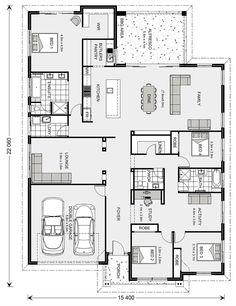 Tour Design, G. Gardner Homes - Custom Home Builders New House Plans, Dream House Plans, Small House Plans, House Floor Plans, Custom Home Builders, Custom Homes, Passive Solar Homes, Bedroom Floor Plans, Floor Layout