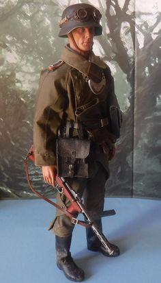 1/6 Scale german WW2 felgendarme custom figure (DID,DML,Pat-Lin,Calteck)