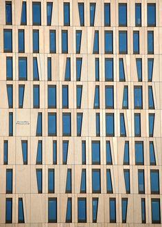 Modern skyscraper in Rotterdam, Netherlands