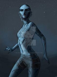 Mass Effect Races, Mass Effect 1, Mass Effect Characters, Dnd Characters, Character Inspiration, Character Art, Character Design, Star Force, Alien Design