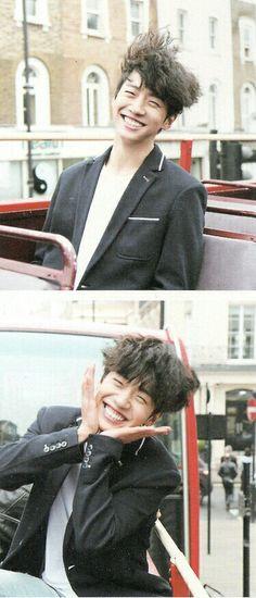 Yongguk & his gummy smile melting my heart ❤️