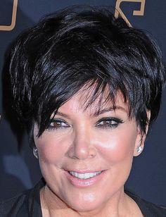 Kris Jenner Layered Razor Cut - Short Hairstyles Lookbook - StyleBistro