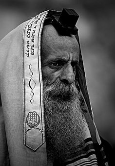 Rabbi-Jerusalem. by YuriBonder.deviantart.com