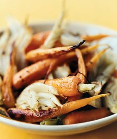 Roasted Fennel and Baby Carrots Recipe    Epicurious.com. Another recipe with Pecorino cheese: http://www.epicurious.com/recipes/food/views/Roasted-Fennel-and-Carrots-with-Pecorino-234436