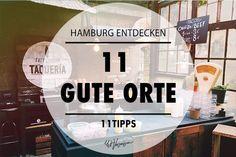 Die Jungs von Waterkant Touren haben 11 wunderschöne Orte und Plätze in Hamburg für uns ausgesucht - vom Geheimtipp bis zum Restaurant.