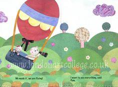 children's book illustrations collage - Google Search